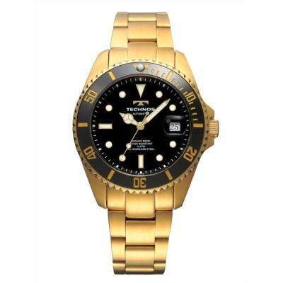 【メーカー保証付 正規品】テクノス誕生 120周年記念モデル! TECHONOS テクノス 腕時計 メンズ 10気圧防水 自動巻腕時計 3針 カレンダー T4A82GB
