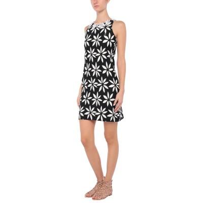 ブルマリン BLUMARINE ビーチドレス ブラック 4 ナイロン 90% / ポリウレタン 10% ビーチドレス