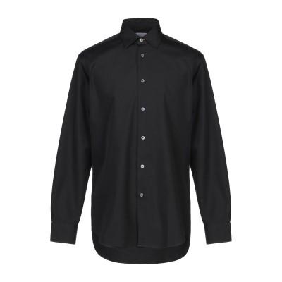 ポール・スミス PAUL SMITH シャツ ブラック 15 コットン 100% シャツ