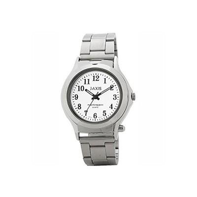 ジェイアクシス J-AXIS サン・フレイム ルーペ付き腕時計 拡大比3倍 アナログ クオーツ式 NAG39-W