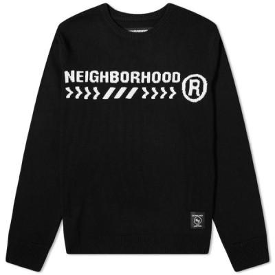 ネイバーフッド Neighborhood メンズ ニット・セーター トップス Electro Knit Black