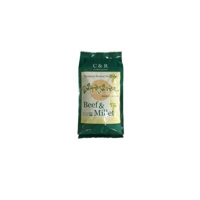 C&R ビーフ&ミレット 20ポンド(9.08kg) (旧SGJビーフ&バーリー)(お取り寄せ品)