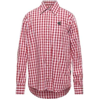 ヴィヴィアン ウエストウッド VIVIENNE WESTWOOD ANGLOMANIA メンズ シャツ トップス Checked Shirt Red