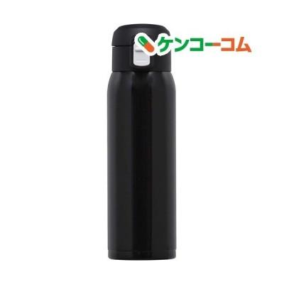 オミット ワンタッチ栓スリムマグボトル 500ml ブラック RH-1519 ( 1個 )