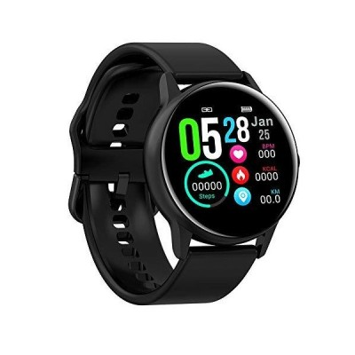 (新品) Full Touch Fitness Tracker,Bluetooth Smart Band Fitness Watch, Heart Rate Blood Pressure Monitor IP68 Waterproof Wrisband with