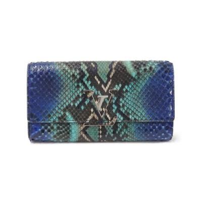 ルイヴィトン エキゾチックレザー 財布 N90074