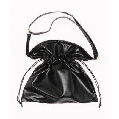 ショルダーバッグ バッグ 巾着サコッシュ
