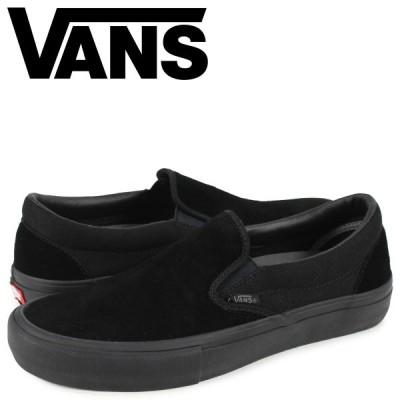 VANS ヴァンズ スリッポン スニーカー メンズ バンズ CLASSIC SLIP-ON ブラック 黒 VN00097M1OJ