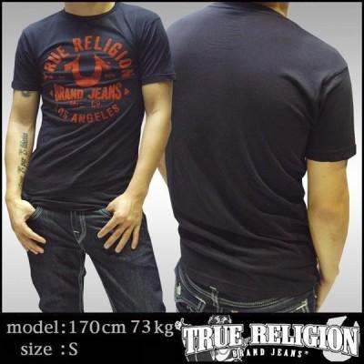 トゥルーレリジョン メンズ TRUE RELIGION Tシャツ ブラック 102 tシャツ 半袖 シャツ セレブ 愛用 ブランド ファッション アメカジ インポート カジュアル