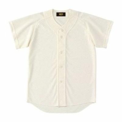 ZETT(ゼット) 少年用ユニフォームシャツ アイボリー BU2071 3100 サイズ:160 野球&ソフト ユニフォーム シャツJR