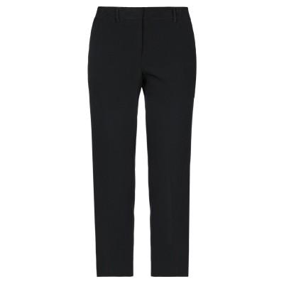 SLOWEAR パンツ ブラック 42 レーヨン 78% / アセテート 18% / ポリウレタン 4% パンツ