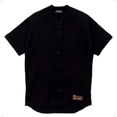 立襟フルオープンシャツ プロモデル(ルーズシルエット)  DESCENTE デサント ヤキュウソフトユニフォーム (DB55M-