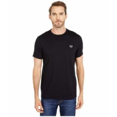 フレッドペリー メンズ シャツ トップス Ringer T-Shirt Black