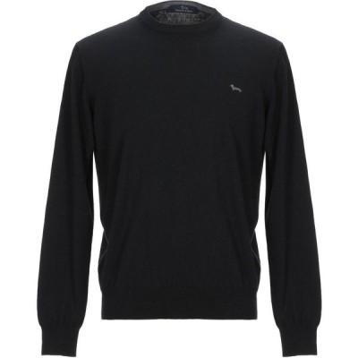 ハーモント アンド ブレイン HARMONT&BLAINE メンズ ニット・セーター トップス sweater Black