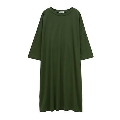 <Plantation(Women)/プランテーション> ツイストバイオジャージーワンピース green(10)【三越伊勢丹/公式】