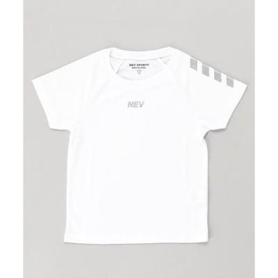 tシャツ Tシャツ DRY MESH リフレクタープリント 半袖Tシャツ カットソー キッズ