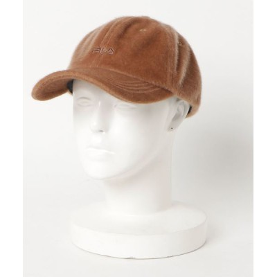 E hyphen world gallery / 【別注】FILAファーキャップ WOMEN 帽子 > キャップ