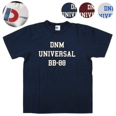 DENIME ドゥニーム Tシャツ クルーネック UNIVERSAL 丸胴編みボディ スーパーヘビーTシャツ