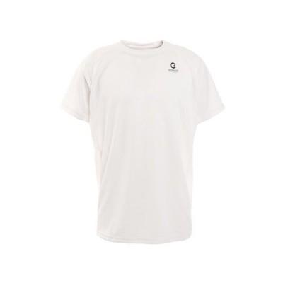 ジローム(GIRAUDM) 洗える抗ウイルス素材 ナノガード 吸汗速乾 UV 半袖Tシャツ 863GM1TP6607 WHT 生地 服 洗える UVカット 速乾 (メンズ)