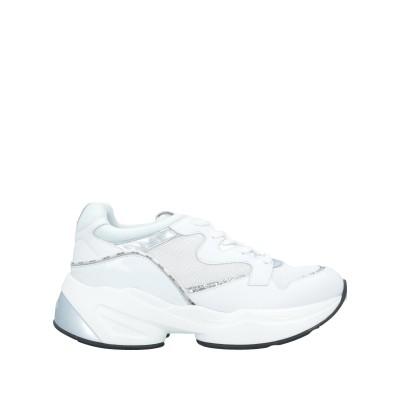 リュー ジョー LIU •JO スニーカー&テニスシューズ(ローカット) ホワイト 35 革 スニーカー&テニスシューズ(ローカット)