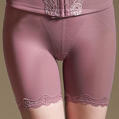 【曼黛瑪璉】魔幻美型  重機能高腰中管束褲(桔梗紫)
