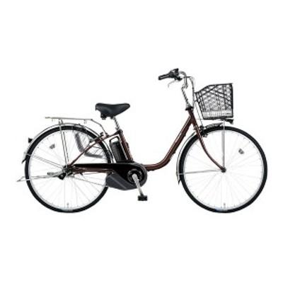 PANASONIC BE-ELSX632-T チョコブラウン ビビ・SX [電動アシスト自転車(26インチ・内装3段)]