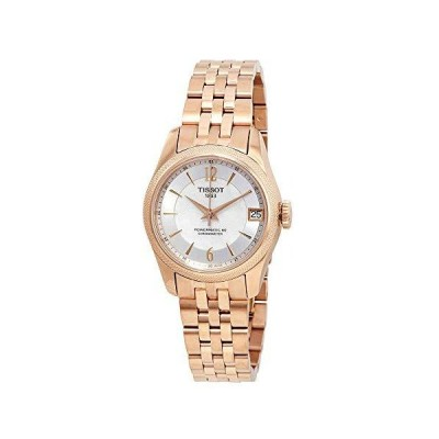 Tissot T-Classic Ballade Automatic Chronometer White Mother of Pearl Dial L 並行輸入品
