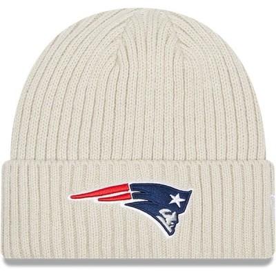 ニューエラ メンズ 帽子 アクセサリー New England Patriots New Era Core Classic Stone Cuffed Knit Hat