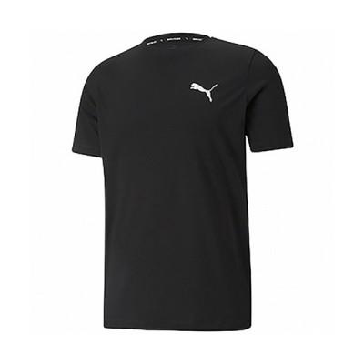 プーマ(PUMA) メンズ レディース ACTIVE スモールロゴ Tシャツ プーマブラック 588866 01 半袖 トップス スポーツウェア