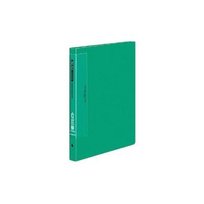 コクヨ クリヤーブック(ウェーブカットポケット) A4縦 替紙式17枚ポケット30穴 緑 ラ-T720G