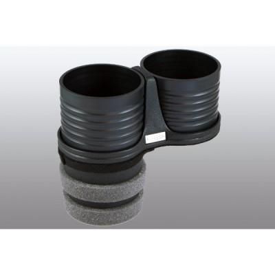 ドリンクホルダー ブラックカップ メルセデスベンツ W204 Cクラス 純正ポケット リヤ側 ALCABO アルカボ