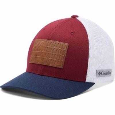 コロンビア Columbia ユニセックス キャップ 帽子 Rugged Outdoor Mesh Hat Red Jasper/White/Collegiate Navy