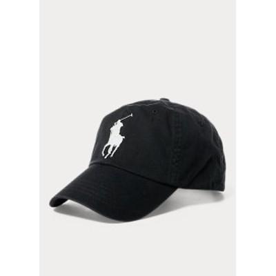 ラルフローレン キャップ Polo Ralph Lauren Big Pony Chino Baseball Cap 帽子 Black