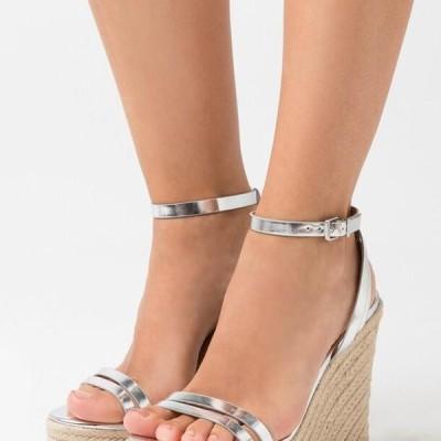 レディース サンダル High heeled sandals - silver
