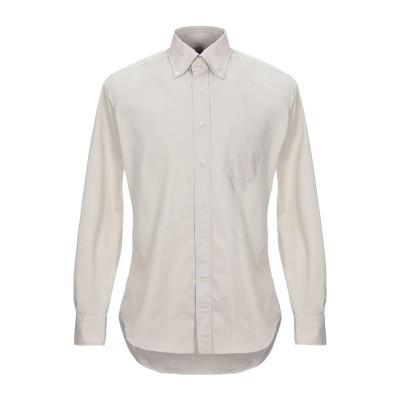 ALESSANDRO GHERARDI シャツ ライトグレー 41 コットン 100% シャツ