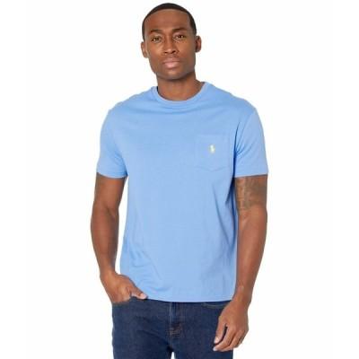 ラルフローレン シャツ トップス メンズ Classic Fit Pocket Tee Cabana Blue 1