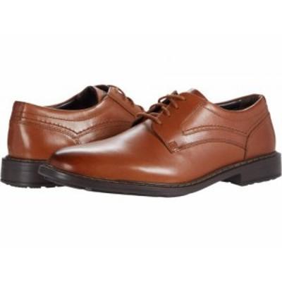 Rockport ロックポート メンズ 男性用 シューズ 靴 オックスフォード 紳士靴 通勤靴 Parsons Plain Toe Cognac【送料無料】