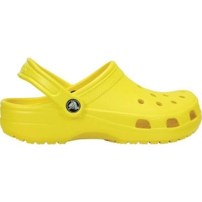 クロックス Crocs メンズ クロッグ シューズ・靴 Adult Classic Clogs Lemon