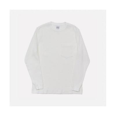 <Charcoal TOKYO (Men)/チャコール トーキョー> ORIGINAL Charcoal Tシャツ OC Waffle Crew SS 20 01 1 058 White【三越伊勢丹/公式】