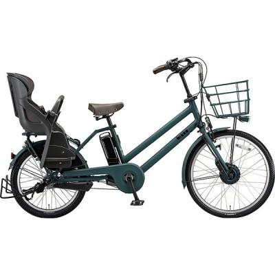 【防犯登録サービス中】ブリヂストン 電動アシスト自転車 bikke GRI BG0B40 T.Xディープグリ-ン