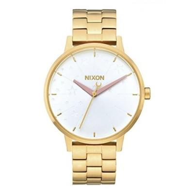 ニクソン 腕時計 レディースウォッチ Nixon Women's Kensington Watch Leila Hurst Gold Soft Pink LH