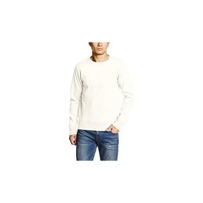 アヴィレックス Tシャツ DAILY CREWNECK SWEAT 6153509 メンズ 02 OFF WHITE 日本 XL (日本サイ