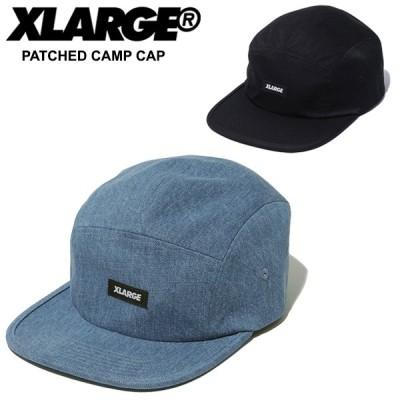 エクストララージ(XLARGE) PATCHED CAMP CAP キャンプ キャップ 帽子 [BB]