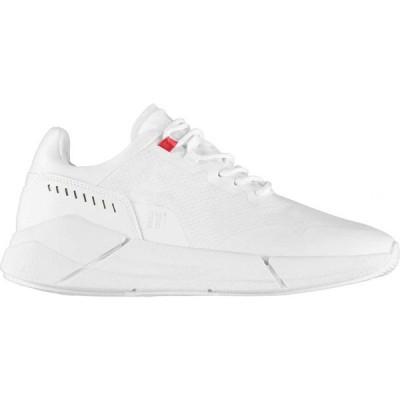 イレブンディグリーズ 11 Degrees メンズ スニーカー シューズ・靴 Del Ray Trainers White