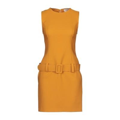 KAOS JEANS ミニワンピース&ドレス オークル 38 ポリエステル 88% / ポリウレタン 12% ミニワンピース&ドレス