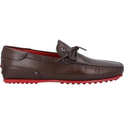 トッズ TOD'S for FERRARI メンズ ローファー シューズ・靴 loafers Cocoa