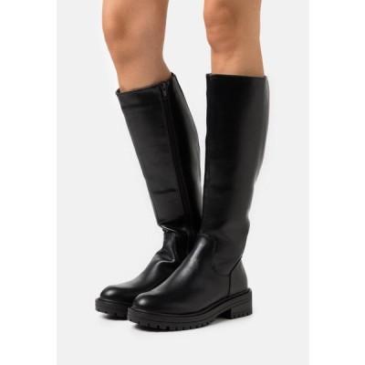 ニュールック レディース ブーツ PADDED CHUNKY - Boots - black