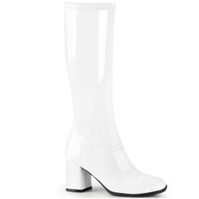 ファッション レディース ブーツ White Str. Pat Funtasma GOGO-300-2 gogo300-2-w お取り寄せ商品