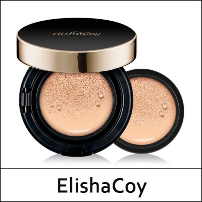 [ElishaCoy] ⓑ Perfect Cover Cushion 15g(+Refill 15g) / パーフェクトカバークッション 15g (+詰め替え 15g)