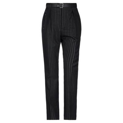 SAINT LAURENT パンツ ブラック 36 ウール 98% / ポリエステル 1% / 金属繊維 1% パンツ